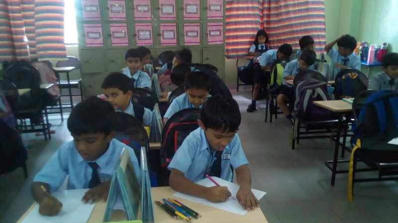 Class-I Inter House Art Competition